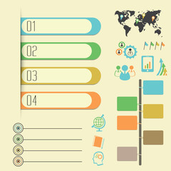 Infographics Elements and banner