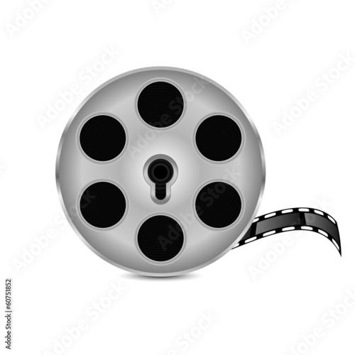 film strip isolated on white background.film icon.vector