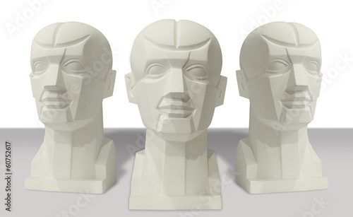 sculptures anatomy head for drawing classes