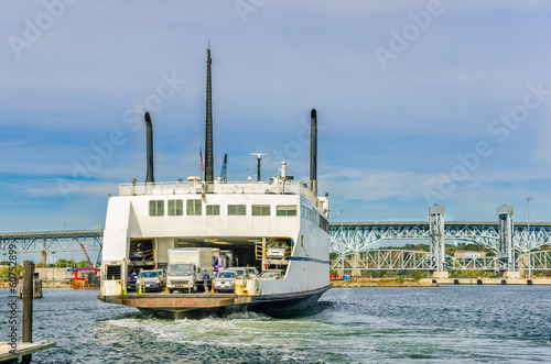 Ferry Approaching the dock
