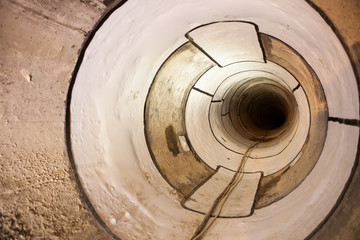 sewage collector pipe
