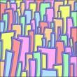 Color pieces cover