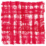 Red Watercolor Square Crosshatched Frame Border