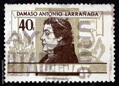 Postage stamp Uruguay 1963 Damaso Antonio Larranaga, Teacher