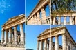 Ancient temple of Segesta in the valley - Trapani, Sicily