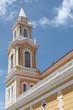 Church tower in Joao Pessoa Brasil