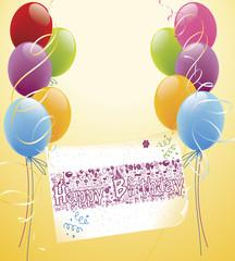 Happy Birthday Karte © Matthias Buehner