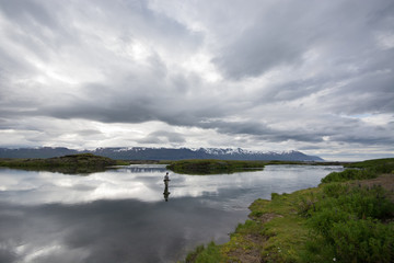 Flyfisher in Paradise