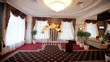hall for wedding ceremonies festively decorated