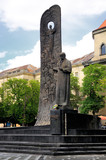 Monument of poet Taras Shevchenko