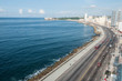Havana Malecon - Centre and Vedado.