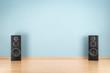 Leinwandbild Motiv Speakers