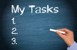 My Tasks - Checklist