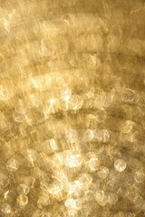 abstract background with golden twinkle