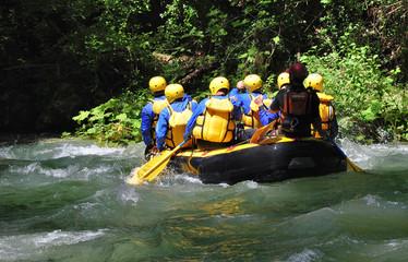 Rafting sul fiume Nera, Umbria, Italia