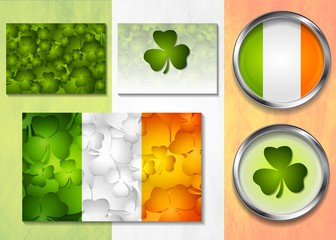 Patricks Day vector design