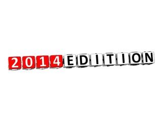 3D Edition 2014 Button Click Here Block Text