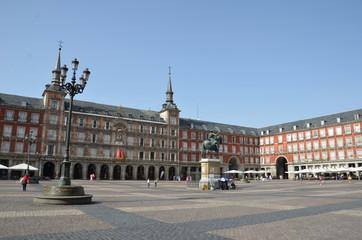 Plaza Mayor de Madrid, Espagne