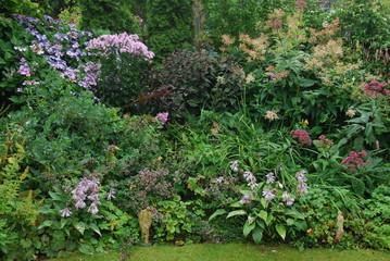 border in een tuin
