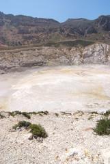 vulcano isola di nisyros grecia