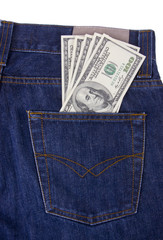 MONEY IN BACK POCKET