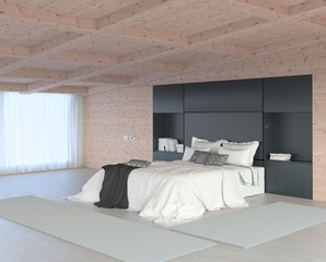 Bedroom Wooden Interior