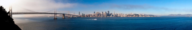 skyline di San Francisco, California, USA