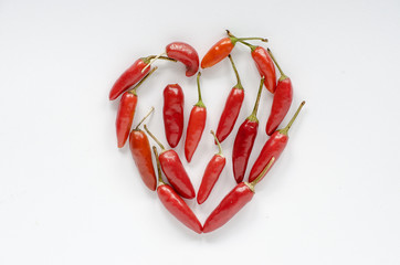 cuore di peperoncino