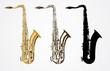 Classical saxophone vector - 60767841