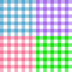 Pastel square pattern illustration