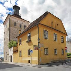Lotrscak tower in Zagreb
