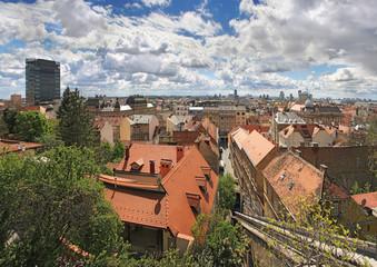 Cityscape of Zagreb