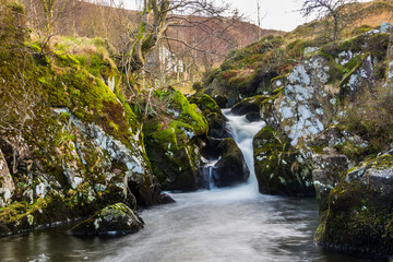Waterfall at Watendlath Tarn