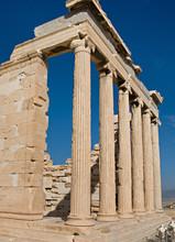 Les temples de l'Acropole