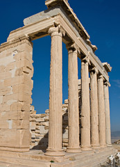 The temples of Acropolis