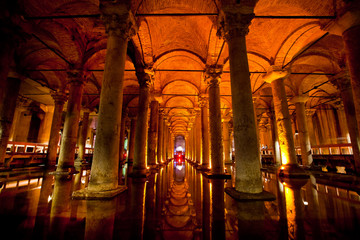 Basilica cistern in Istanbu