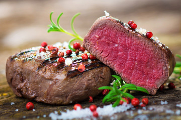 Juicy Fillet Steak with Fresh Herbs
