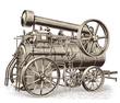 locomobile - steampunk vehicle