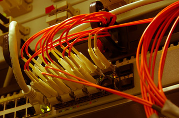 Fiber Optics with SC/LC connectors