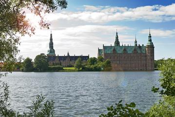 Frederiksborg Slot, in Hillerod near Copenhagen, Denmark