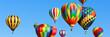 Colorful hot air balloons - 60770691