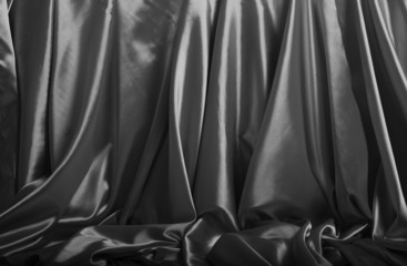 Silver silk background