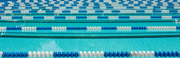Competitive swim lanes