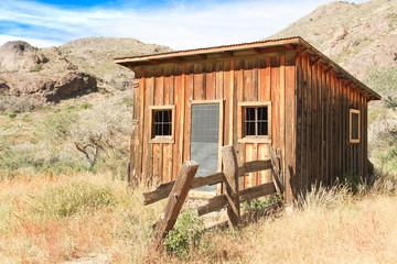 Vintage cowboy fence line cabin #6