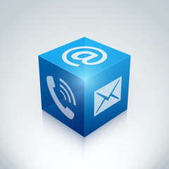 Contact e-mail téléphone arobase