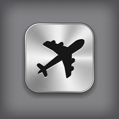 Airplane icon - etal app button