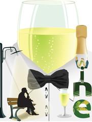 vino spumante prosecco