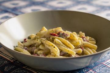 Pasta Speck e Gorgonzola
