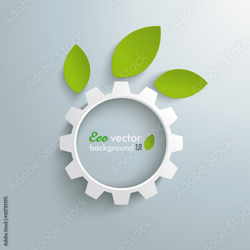 Green Technology Gear Leaves
