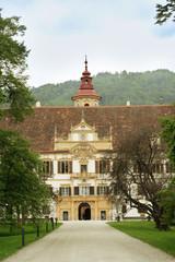 Graz Eggenberg palace park Austria